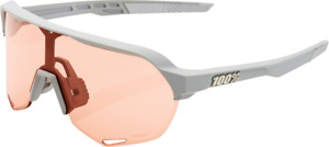 100% S2 Performance Sunglasses Stone Gray - Coral 61003-289-79