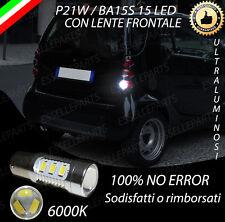 LAMPADA RETROMARCIA 15 LED P21W BA15S CANBUS SMART FORTWO 450 NO ERROR 6000K