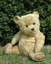 """""""Clarence"""" 24"""" Chiltern 1940's Flat Faced HugMee Bear mohair antique vintage"""