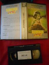 VHS (PAL) Zombie Lake (Le Lac des Morts-Vivants) de TJ Laser (Jean Rollin) 1981