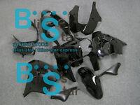 Gloss Black Fairing Bodywork Plastic Kit Kawasaki Ninja ZX-9R 2002-2003 001 D2