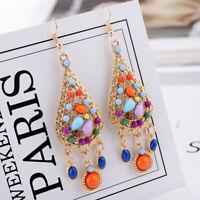 Tassel Vintage Women Boho Dangle Dangle Earrings Drop Fashion Hook Long Bohemian