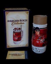 DALE EARNHARDT JR Lidded STEIN - 2004 - Budweiser Ceramarte - Original Box