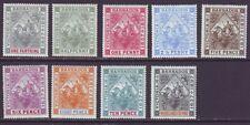 Barbados 1897 SC 81-89 MH Set Diamond Jubilee
