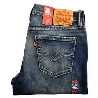 LEVI'S 541 Athletic Fit Tapered Leg Blue Denim Jeans Men's BRAND NEW 181810226