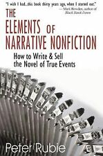 The Elements of Narrative Nonfiction: How to Write and Sell the Novel -ExLibrary