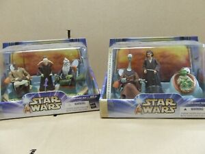 Rare Star Wars Jedi High Council  Box Sets - Scene 1 & 2 BNIB