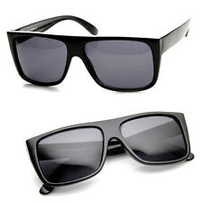 80's Retro Classic Old School Eazy E. Hardcore Flat Top Sunglasses