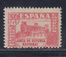 ESPAÑA (1936/37) NUEVO SIN FIJASELLOS MNH SPAIN -EDIFIL 808 (30 cts) LOTE 2