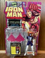 Spider-Woman Vintage Iron Man Action Figure New 1995 Toybiz 90s Marvel Comics