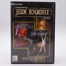 Star Wars Jedi Knight Gold PC Spiel Game Mysteries of the Sith Jediritter
