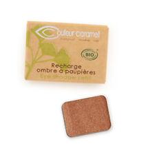Recharge Fard à Paupières n°55 Cuivre nacrée Bio - 1,3 g - Couleur Caramel