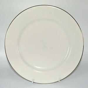 "Royal Doulton ""SIMPLY PLATINUM"" Dinner Plate(s) - 27cm diameter - LIKE NEW"