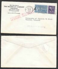 1946 Cover - Special Delivery - Chicago, Illinois