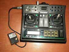 Robbe Futaba Sender FC-18 V3 35 Mhz funktionsfähig mit 2,4 Ghz Modul