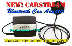 Audiovox CarStream Android Phone Bluetooth Car Adapter for Acura & Honda Dice