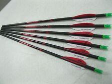 6 Hunter 20 In Bolts W/ Grn Alpha Nocks .300 Id
