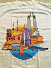 NEW RARE Hard Rock Cafe DUBAI Heavy City Tee T-Shirt Mens Size XL