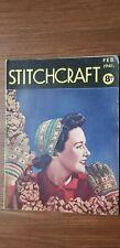 Stitchcraft Magazine Feb 1941 with Transfer