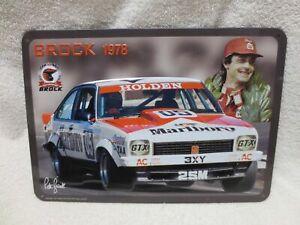 PETER BROCK TIN PLATE 1978 BATHURST WINNER LX A9X TORANA