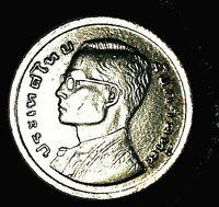 Moneda De  Tailandia  1  Bath   1977  Muy buen estado