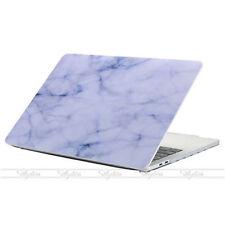 f. 13 Zoll MacBook Air Weiß Blau Marmor Muster Laptop Hülle Tasche Tastaturfolie