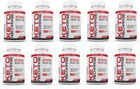 Keto Pills Diet Exogenous Ketones MCT Apple Cider Vinegar Fat Burner 10 Pack