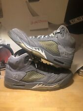 """Air Jordan Retro 5 """"Wolf Grey"""" size 13      Yeezy Boost Air Max Fear of God"""