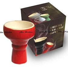 Abu Shisha-High Neck Ceramic Shisha Bowl Hookah Clay Head Bowl Nargila Bowl