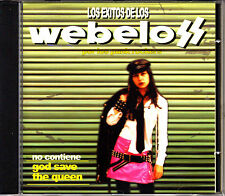 CD los WEBELOS los exitos por SPANISH 2002 PUNK KBD MINT