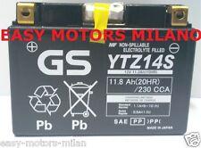BATTERIA GS YUASA YTZ14S Honda STX Pan European - 1300 02-03 VFR 1200 CB 1300