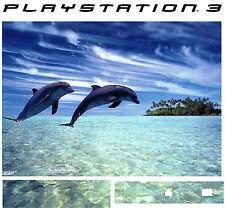 PlayStation 3 PS3 DOLPHINS Vinyl Sticker Skin