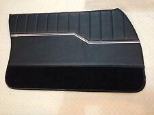 HQ GTS MONARO PREMIER DOOR TRIMS BLACK FOR 4 SEDAN EXCHANGE TOPS