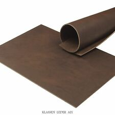 Cowhide Leather Cacao Pull-Up 3,5 Mm Thick Vegetable A4 Real Leather Brown 88