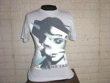 TEGAN AND SARA gray shirt t-shirt men's Small