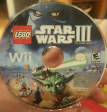 LEGO Star Wars III 3 The Clone Wars Nintendo Wii Video Game adventure DISC ONLY