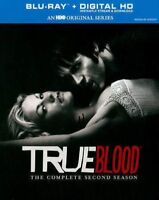 True Blood: The Complete Second Season (Blu-ray Disc, 2014, 5-Disc Set)