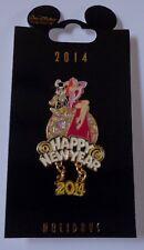 Disney Wdi Happy New Year 2014 Jessica and Roger Rabbit Pin Le 250