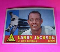 1960 Topps #492 Larry Jackson Cardinals NmMt High Grade Sharp!