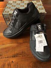 Five Ten Freerider DLX Black Flat MTB Shoes. US 11.5