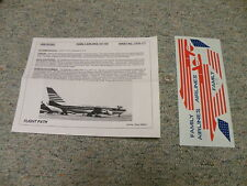 Flight Path  decals 1/200 FP20-117 Family Airlines 747-100    QQ4