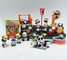 re-ment RAre Panda 10 Part Set