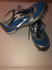 Brooks Surge Track & Field Spike Shoes Mens Size 11.5 Blue Cleat Shoes