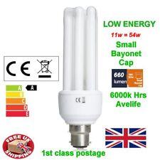 11 W Low Energy Power Saving CFL Stick Light Bulb Lamp SBC b15d Small Bayonet Cap
