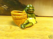 Ceramic Souvenir Tennessee Frog Toothpick Holder by SCOTTY ~ Made in Japan