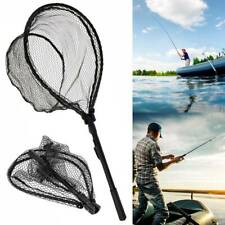 QUALITY FLY FISHERMANS LANDING NET FLY FISHING TROUT SALMON T8Y3