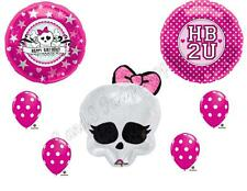 MONSTER HIGH SKULLETTE HB2U Birthday party Balloons Decoration Supplies Pink