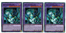 3 x Amulet Dragon ledd-dea35, Common, Mint, Playset, German