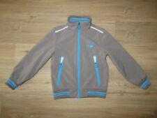 C&A Jacke in khaki-blau, wasserdicht & winddicht, Gr. 140