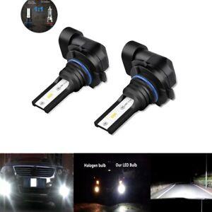 2x Fog Lights Lamp for RAM1500 2013 2014 100W 9006 LED 6000K Foglight Bulbs US